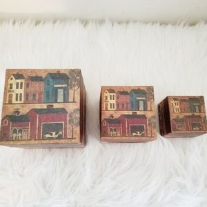 Accents - Nesting boxes